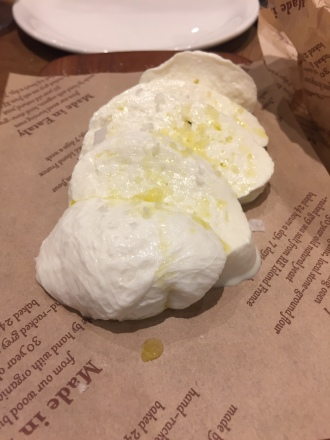 Incredible Fresh Mozzarella!