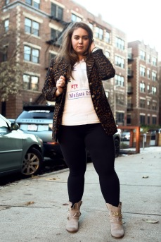 That vintage leopard blazer!!